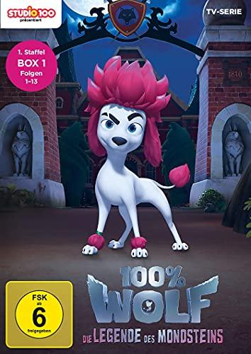 100% Wolf - Die Legende des Mondsteins - Staffel 1 - Teilbox 1 [2 DVDs]