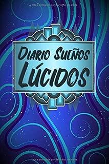 Diario Sueños Lúcidos: Cuaderno para Sueños con Patrón Azul Abstracto (Spanish Edition)