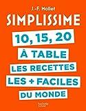 Simplissime 10, 15, 20 à table (CUISINE)