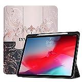 Étui intelligent pour tablette avec fonction veille/réveil automatique compatible avec iPad Pro...