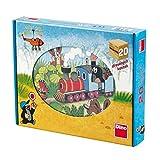 Dino Toys- Cubos de Madera del Puzzle (642058)