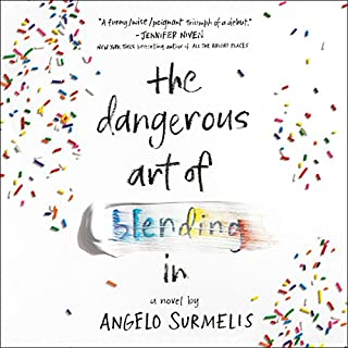 The Dangerous Art of Blending In audiobook cover art