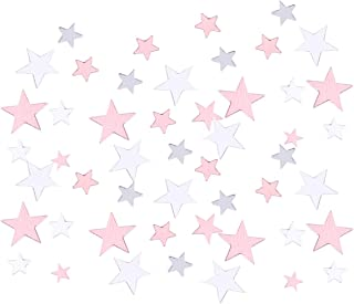 STOBOK Star Table Confetti Metallic Glitter Star Confetti For Wedding Birthday Baby Shower Table Scatter Decorations