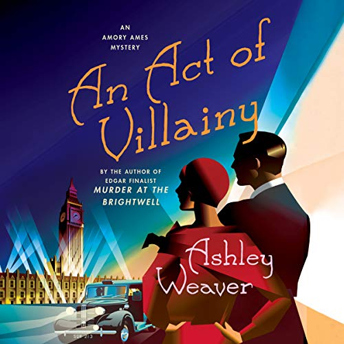 An Act of Villainy audiobook cover art