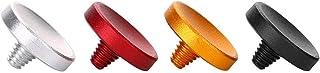 EBTOOLS 4Pcs Pulsante di rilascio dell'otturatore concavo in lega di alluminio per Fujifilm X100 X100S X10 X20