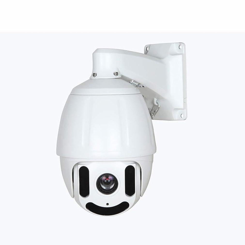 鈍いお母さんインスタンス影寳服装店 1080 p HDモニターカメラインテリジェント赤外線パンチルトカメラ (色 : ホワイト)