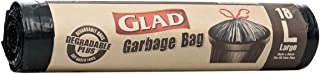 Glad Kit Tidy Degradable Plus Large Bags - 18 Count