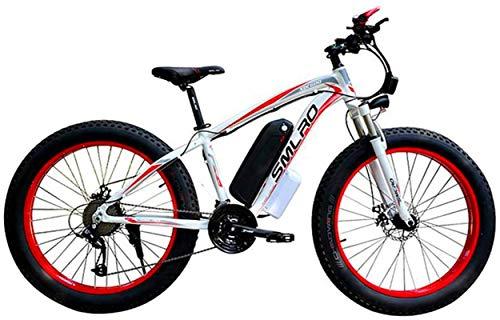 Bicicletas Eléctricas, 48V 350W Bici de montaña eléctrica 21 velocidades E-bike 26...
