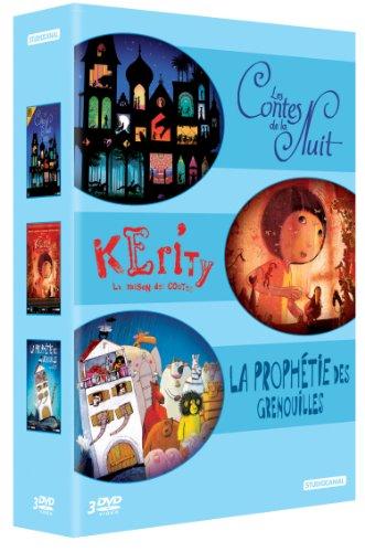 Coffret Animation Nuit + Kerity, la Maison des Contes + La prophétie des Grenouilles