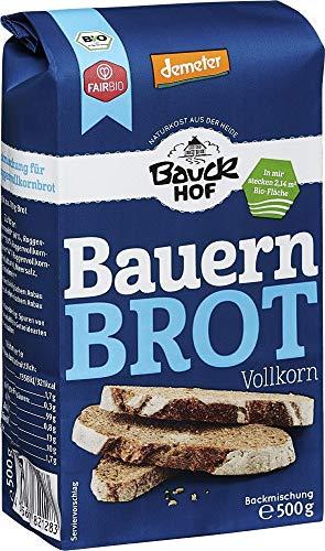 Bauckhof Bio Bauck Demeter Bauernbrot (2 x 500 gr)