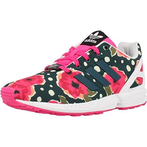 Laufschuhe M�dchen, color Farbe Blumen , marca ADIDAS ORIGINALS, modelo Laufschuhe M�dchen ADIDAS ORIGINALS ZX FLUX C Farbe Blumen