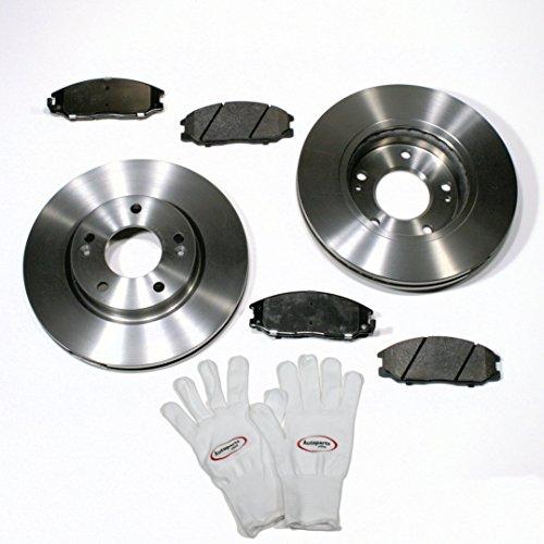 Autoparts-Online Set 60004476 Bremsscheiben/Bremsen + Bremsbeläge für vorne/für die Vorderachse