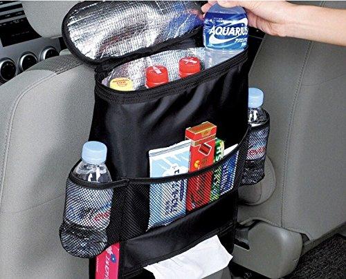 Anniston Twinkle 汽车座椅靠背收纳包 – 婴儿后座收纳袋 – 多口袋旅行储物袋,适用于婴儿旅行配件,儿童玩具收纳,后座保护/踢垫 (BO-007)