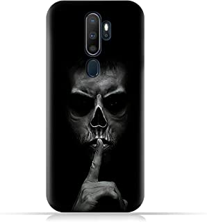 AMC DesignOppo A9 (2020) TPU Silicone Case with Gesturing Silence Pattern
