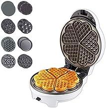Gaufret avec des assiettes amovibles de la station de repas du matin Grill ou un grille-pain de fabricant de sandwich avec...