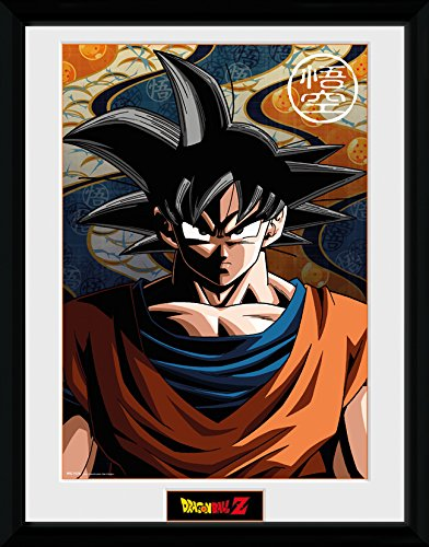 Dragonball Z Poster im Rahmen Son Goku 45 x 34 cm
