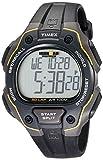 Timex Men's T5K494 Ironman Classic 50 Full-Size Black/Yellow Resin Strap Watch