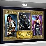 SGH SERVICES Gerahmtes Poster Michael Jackson und Whitney
