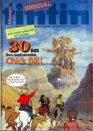 TINTIN [No 18] du 03/05/1983 - 30 ANS - CHICK BILL