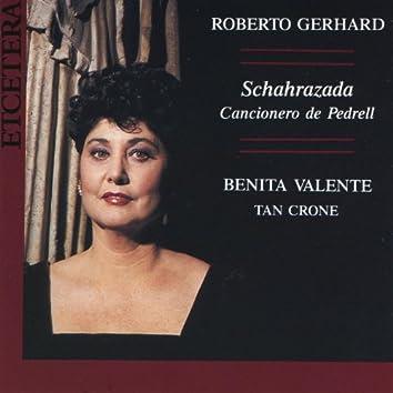 Roberto Gerhard, Schahrazada, Cancionero de Pedrell