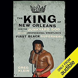 The King of New Orleans audiobook cover art