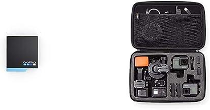 GoPro Akku für Hero8 Black/Hero7 Black/Hero6 Black (Offizielles Zubehör) & Amazon Basics Tragetasche für GoPro Actionkamer...