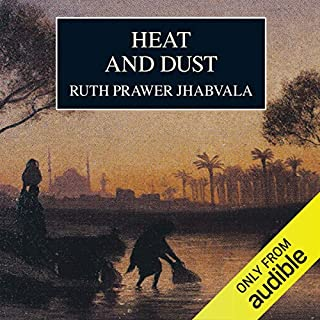 Heat and Dust audiobook cover art