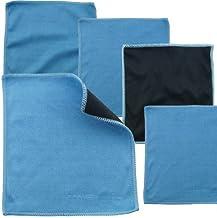 Eco-Fused Paños de Limpieza de Microfibra Paquete de 5 – Paños de Limpieza de Tamaño Doble – Paño de Microfibra y Gamuza para Pantallas de Teléfonos, TV LCD, Tabletas, Lentes de Cámara y Otras