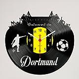 Gravinci.de Schallplatten-Wanduhr Dortmund - Never Walk