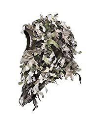 cheap North Mountain Gear Woodland HD Camouflage Gilly Lee Fee 3D Woodland Face Mask Full Cover…