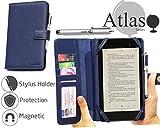 Navitech housse étui bleu folio avec stylet pour Sanei G701 7' Android 4.2 3G GPS...