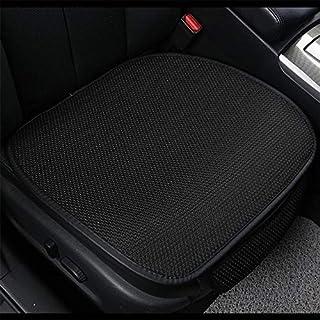 Asiento de coche cubierta del cojín del asiento del coche del cojín amortiguador frontales accesorios interiores del coche auto Pad Chair Car accesorios del coche estera de asiento (Color: Negro), Nom