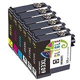 GLEGLE 6 Reemplazo Compatible con 603 XL para Epson 603XL Cartuchos de Tinta con Expression Home XP-2100 XP-3100 XP-4100 XP-2105 XP-3105 XP-4105 Workforce WF-2810 WF-2830 WF-2835 WF-2850