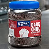McDougalls Dark Chocolate Flavoured Compound Chips - Pack Size = 1x1.1kg