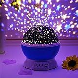 m j OPTIYORK™ Romantic Sky Star Master Night Projector Lamp Sky Colourful LED Night Lamp Baby Sleep Lighting USB Lamp Led Projection star master