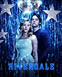 DIY 3D Diamond Painting kit, Movie Character'Riverdale' Round Diamond Cross Stitch, Handmade Embroidery Gift for Adults/Children(15.8x19.7inch)