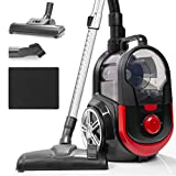Duronic Bagless Cylinder Vacuum Cleaner VC7020 | Cyclonic Pet Carpet and Hard Floor