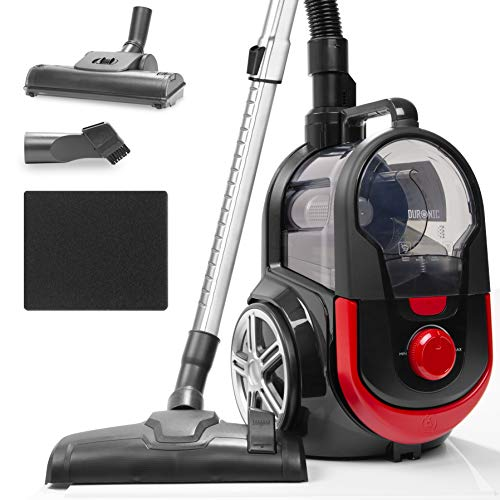 Duronic Bagless Cylinder Vacuum Cleaner VC7020 | Cyclonic Pet Carpet...
