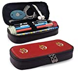 The Slow Leather Pencil Case School Supplies for School Office Supplies Students