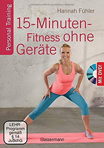 Bassermann 15-Minuten-Fitness ohne Geräte   DVD Bild