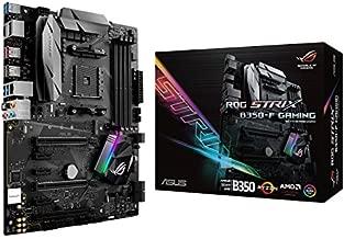 ASUS ROG STRIX B350-F GAMING AMD Ryzen AM4 DDR4 HDMI DisplayPort M.2 USB 3.1 ATX B350 Motherboard