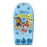 PAW PATROL Hochwertiges Bodyboard 84 cm/Body Board/Surfboard/Schwimmbrett Hundemotiv -