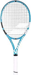 Babolat ピュアドライブライト ブラック/ブルー/ホワイト テニスラケット カスタムラケットストリングカラー (最高の軽量オールコートラケット)
