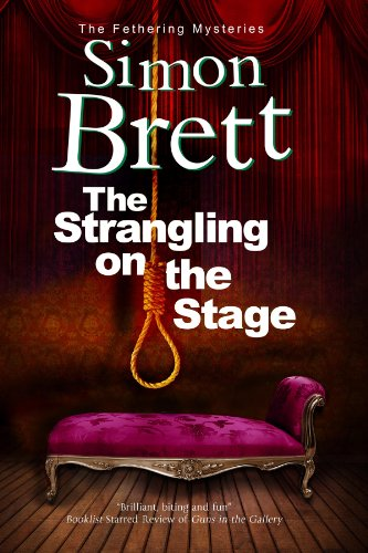 Image of Strangling on the Stage, The (A Fethering Mystery Book 15)