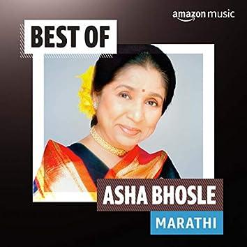 Best of Asha Bhosle (Marathi)