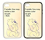 WTF | Samsung Galaxy S5 Winnie The Pooh (Star Wishes) Portrait | Clip on Phone Cover Case (Black Plastic) |