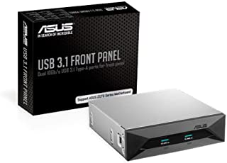 ASUS USB 3.1 Gen 2 Type-A Front Panel - Black