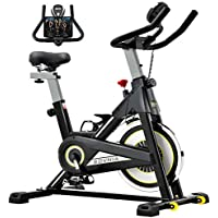 Sovnia Exercise Bike with iPad Holder, LCD Monitor