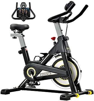 Sovnia Stationary Exercise Bike with iPad Holder