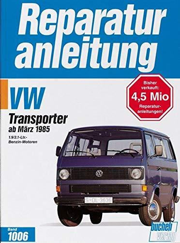 VW Transporter / Bus ab 3/1985: 1.9/2.1-Liter-Benzin-Motoren (Reparaturanleitungen)